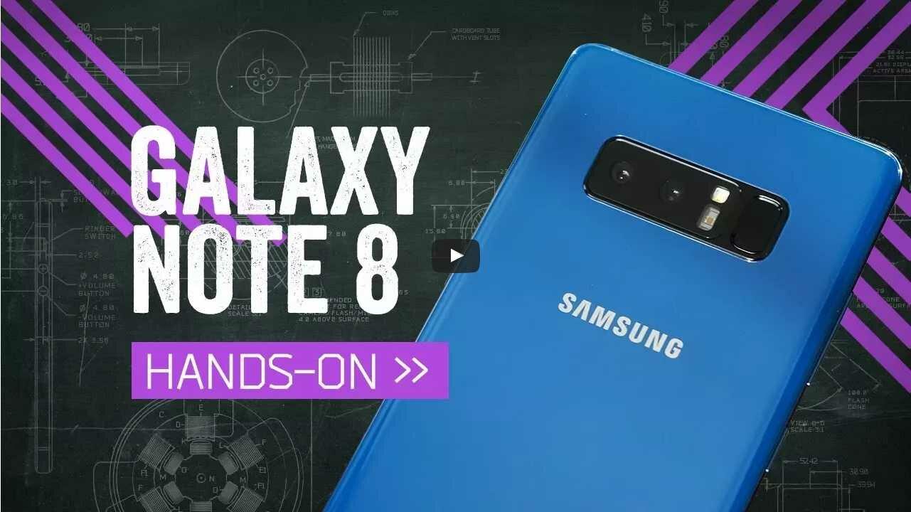 Видео обзор Samsung Galaxy Note 8