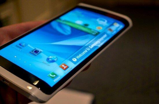 гибкий дисплей Samsung