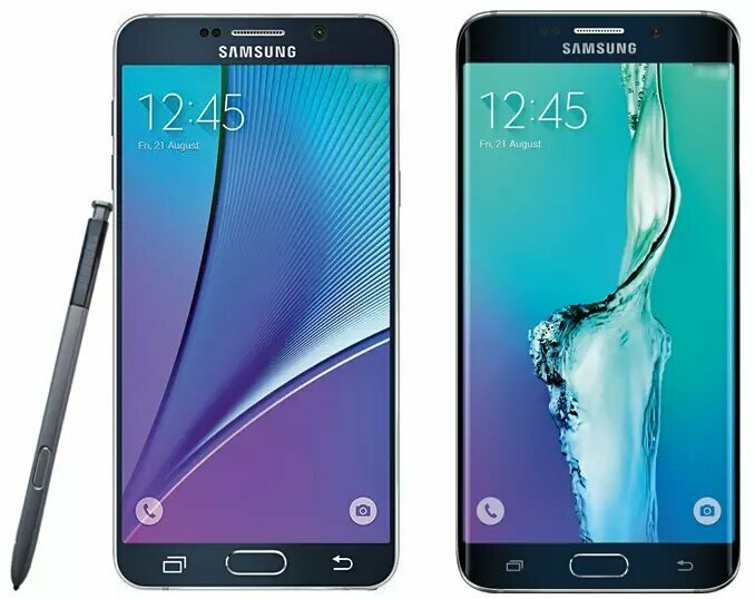 Презентация Samsung Galaxy Note 5 и Galaxy Edge 6+