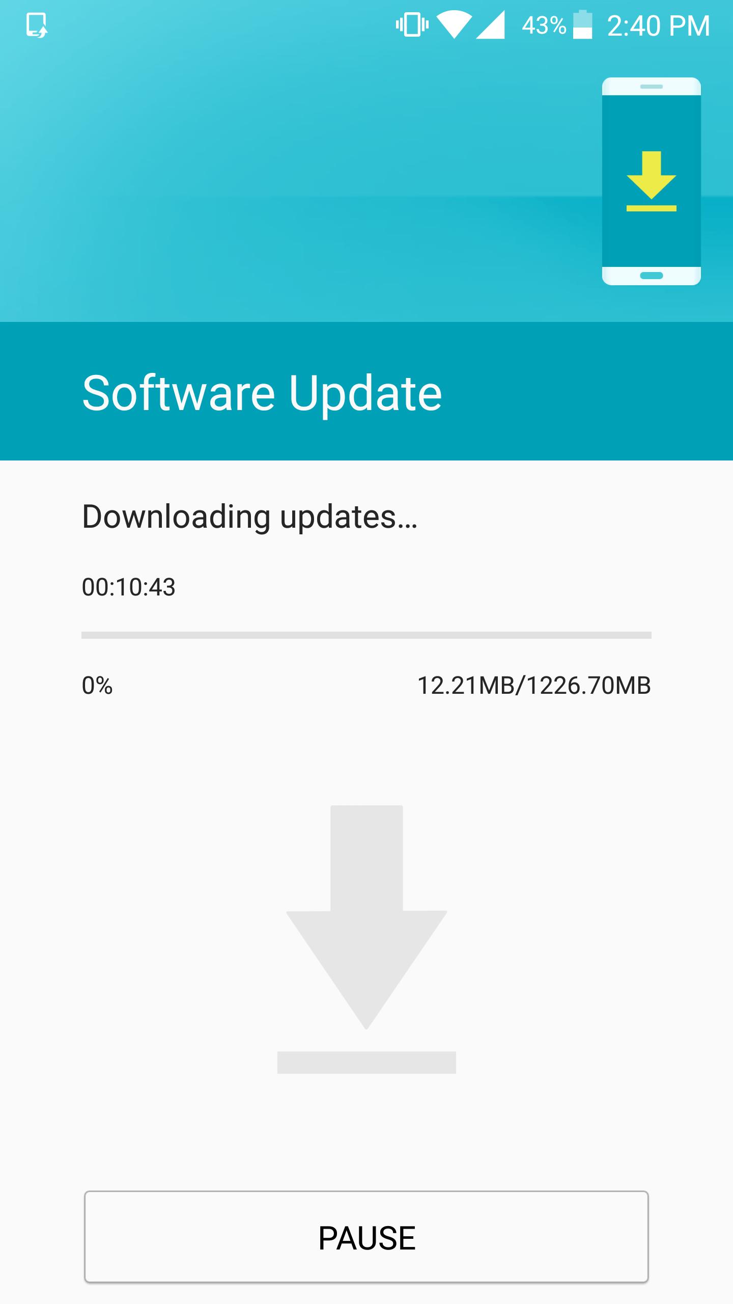 S7 Nougat update