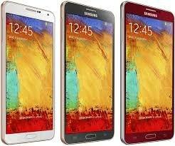 новые цвета смартфона samsung galaxy note 3