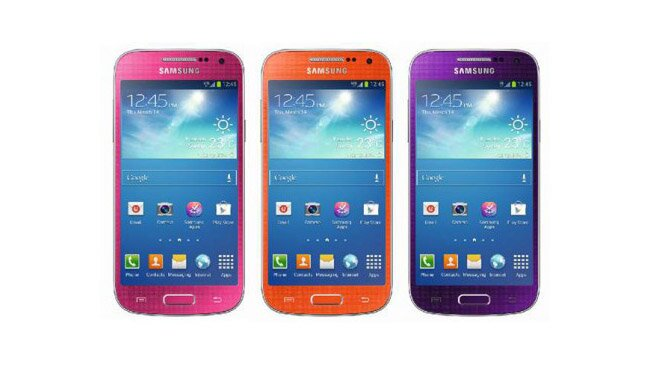 новые цвета samsung galaxy s4 mini