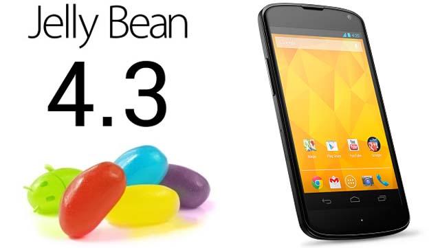 обновление Android 4.3
