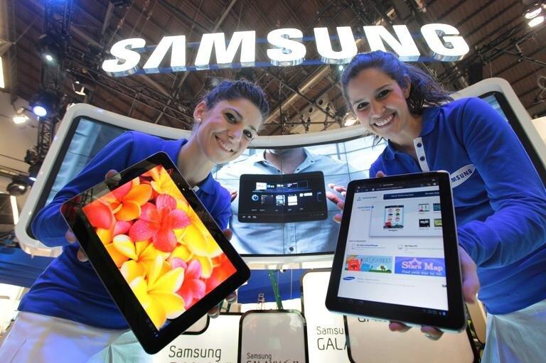планшеты Samsung с высоким разрешением