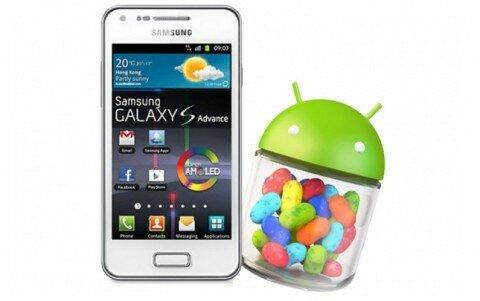 Обновление программного обеспечения Samsung Galaxy S Advance